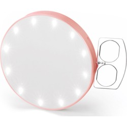 Glamcor Riki Super Fine 7x Mirror Rose Gold found on Makeup Collection from Feelunique (UK) for GBP 65.91