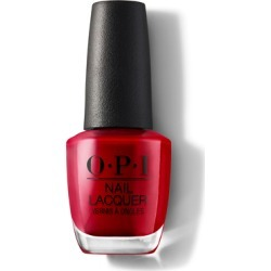 OPI Nail Lacquer 15ml Red Hot Rio found on Makeup Collection from Feelunique (UK) for GBP 15.1
