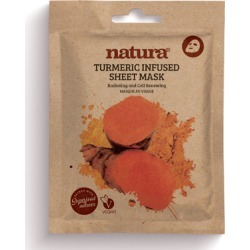natura TURMERIC INFUSED SHEET MASK found on Makeup Collection from Feelunique (UK) for GBP 5.07