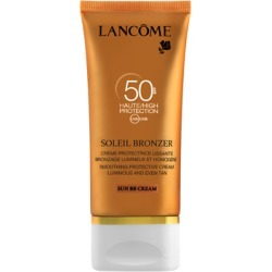 Lancôme Soleil Bronzer Dry Touch Face Sun Cream SPF50 50ml found on Makeup Collection from Feelunique (UK) for GBP 27.2