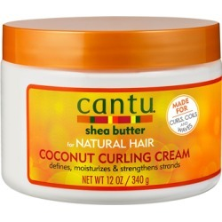 Cantu Shea Butter for Natural Hair Coconut Curling Cream 340g found on Makeup Collection from Feelunique (UK) for GBP 7.21