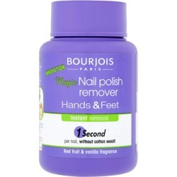 Bourjois Magic Hands and Feet Nail Polish Remover 75ml found on Makeup Collection from Feelunique (UK) for GBP 6.52