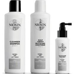 Nioxin 3-Part System Kit 1 For Natural Hair With Light Thinning found on Makeup Collection from Feelunique (UK) for GBP 39.68