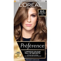 L'Oréal Paris Preference 6 Buenos Aires Dark Blonde Permanent Hair Dye 1 Kit found on Makeup Collection from Feelunique (EU) for GBP 9.33