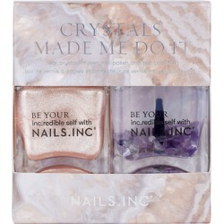 NAILSINC Crystals Made Me Do It Duo Nail Polish 2 x 14ml found on Makeup Collection from Feelunique (UK) for GBP 15.6