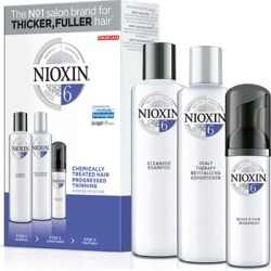 NIOXIN 3-part System Kit 6 for Chemically Treated Hair with Progressed Thinning found on Makeup Collection from Feelunique (UK) for GBP 36.69
