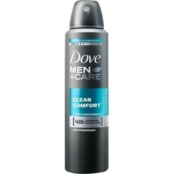 Dove For Men Clean Comfort Anti-Perspirant Deodorant 150Ml found on Makeup Collection from Feelunique (EU) for GBP 3.56