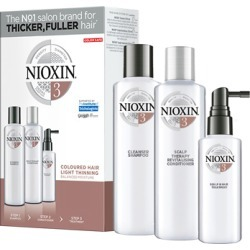 NIOXIN 3-part System Kit 3 for Colored Hair with Light Thinning found on Makeup Collection from Feelunique (UK) for GBP 36.9