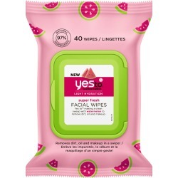 Yes To Watermelon Super Fresh Facial Wipes X 40 found on Bargain Bro UK from Feelunique (EU)
