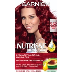Garnier Nutrisse Cream Nourishing Permanent Hair Colour 5.62 - Vibrant Red found on Makeup Collection from Feelunique (UK) for GBP 6.3
