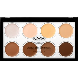 NYX Professional Makeup Highlight & Contour Cream Pro Palette 8 x 2g found on Makeup Collection from Feelunique (UK) for GBP 20.73