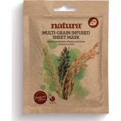 natura MULTI-GRAIN INFUSED SHEET MASK found on Makeup Collection from Feelunique (UK) for GBP 3.48