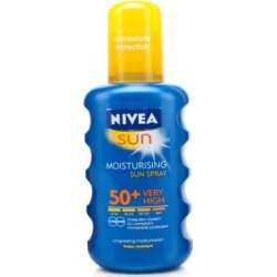NIVEA SUN Spray SPF50+ 200ml found on Makeup Collection from Feelunique (UK) for GBP 13.01