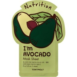 TonyMoly I'm Avocado Sheet Mask found on Makeup Collection from Feelunique (UK) for GBP 5.44