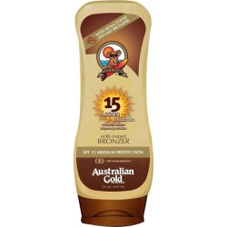 Australian Gold Sunscreen Sun Lotion With Bronzer Spf 15 237Ml found on Bargain Bro UK from Feelunique (UK)