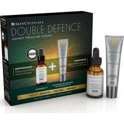 Skinceuticals Double Defence Silymarin Cf Kit For Oily + Blemish-Prone Skin found on Makeup Collection from Feelunique (EU) for GBP 164.97