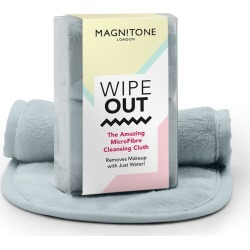 Magnitone London Wipeout! The Amazing Microfibre Cleansing Cloth Grey X 2 found on Bargain Bro UK from Feelunique (UK)