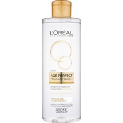 L'Oréal Paris Age Perfect Micellar Cleansing Water 400ml found on Makeup Collection from Feelunique (UK) for GBP 6.53