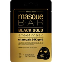 masqueBAR Black Gold Sheet Mask found on Makeup Collection from Feelunique (UK) for GBP 4.16