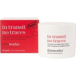 This Works In Transit No Traces 60 Pads found on Bargain Bro UK from Feelunique (UK)