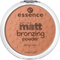 Essence Sun Club Matt Bronzing Powder 02 Sunny 15g found on Makeup Collection from Feelunique (UK) for GBP 3.63