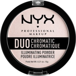 NYX Professional Makeup Duo Chromatic Illuminating Powder 7.2g Snow Rose found on Makeup Collection from Feelunique (UK) for GBP 9.16