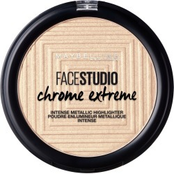 Maybelline By Facestudio Master Chrome Metallic Highlighter 8G 300 Sandstone found on Makeup Collection from Feelunique (EU) for GBP 10.49