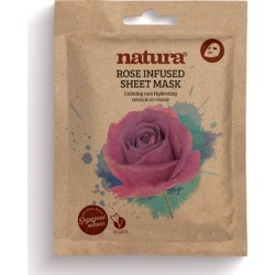 natura ROSE INFUSED SHEET MASK found on Makeup Collection from Feelunique (UK) for GBP 5.07