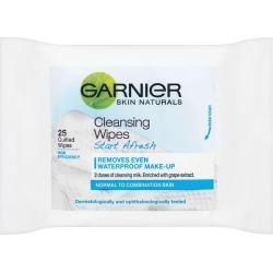 Garnier Skin Naturals Fresh Essentials Cleansing Wipes X 25 found on Bargain Bro UK from Feelunique (UK)