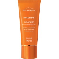 Institut Esthederm Bronz Repair Anti-Wrinkles Bronzing Sun Care Face Cream - Strong Sun 50ml found on Makeup Collection from Feelunique (UK) for GBP 61.05