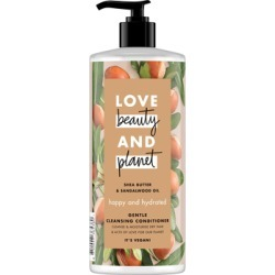 Love Beauty and Planet Happy and Hydrated Gentle Cleansing Conditioner 500ml found on Makeup Collection from Feelunique (UK) for GBP 6.6