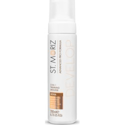 St. Moriz Advanced Pro Formula Develop 5 in 1 Tanning Mousse Medium 200ml found on Makeup Collection from Feelunique (UK) for GBP 8.72