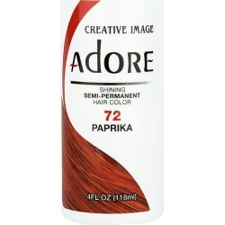 Creative Image Adore Shining Semi-Permanent Hair Color 72 Paprika 118Ml found on Makeup Collection from Feelunique (UK) for GBP 5.71