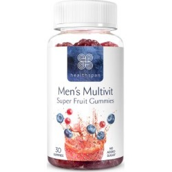 Healthspan Men's Multivit Berry Gummies 30 Gummies found on Makeup Collection from Feelunique (UK) for GBP 8.22