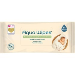 Aqua Wipes - 64 Wipes found on MODAPINS from Feelunique (UK) for USD $3.76