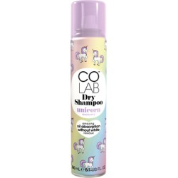 COLAB Unicorn Dry Shampoo 200ml found on Makeup Collection from Feelunique (UK) for GBP 3.8