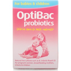 OptiBac Probiotics For Babies & Children 30 capsules found on Makeup Collection from Feelunique (UK) for GBP 16.74
