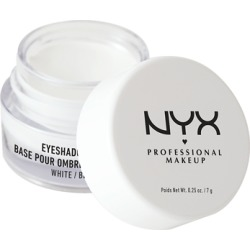 NYX Professional Makeup Eyeshadow Base 7g 01 White found on Makeup Collection from Feelunique (UK) for GBP 6.54