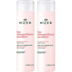 NUXE Micellar Water with Rose Petals Duo 2 x 200ml found on Makeup Collection from Feelunique (UK) for GBP 15.82