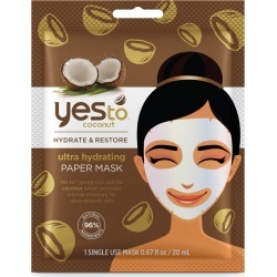 Yes To Coconut Ultra Hydrating Paper Mask found on Makeup Collection from Feelunique (EU) for GBP 4.08