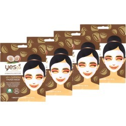 Yes To Coconut Paper Mask 4 Pack found on Makeup Collection from Feelunique (EU) for GBP 13.94