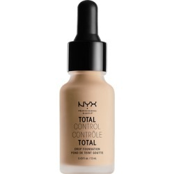 NYX Professional Makeup Total Control Drop Foundation 13ml NATURAL (Light, Warm) found on Makeup Collection from Feelunique (UK) for GBP 14.48