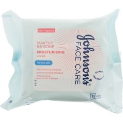Johnson'S Baby Face Care Moisturising Wipes Dry Skin - 25 Wipes found on Bargain Bro UK from Feelunique (UK)