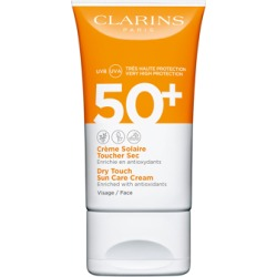 Clarins Dry Touch Sun Care Cream for Face SPF50+ 50ml found on Makeup Collection from Feelunique (UK) for GBP 21.8