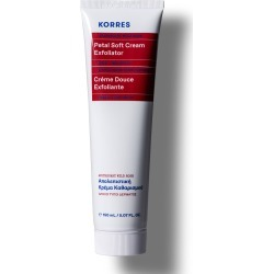 Korres Wild Rose Petal Soft Cream Exfoliator 150Ml found on Makeup Collection from Feelunique (EU) for GBP 26.84