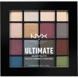 NYX Professional Makeup Ultimate Shadow Palette Smokey & Highlight found on Makeup Collection from Feelunique (UK) for GBP 16.63
