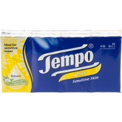Kleenex Tempo Pocket Pack Tissues - 8 Tissues X 12 found on Bargain Bro UK from Feelunique (EU)