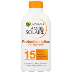 Garnier Ambre Solaire Ultra-hydrating Sun Cream SPF15 200ml found on Makeup Collection from Feelunique (UK) for GBP 5.44