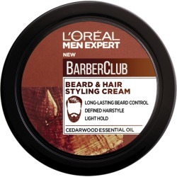 L'Oréal Paris Men Expert Barber Club Beard & Hair Styling Cream 75Ml found on Makeup Collection from Feelunique (EU) for GBP 11.66
