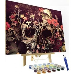 Artistry Rack Scenery & Animals Paint by Numbers Kit - Forbidden Garden